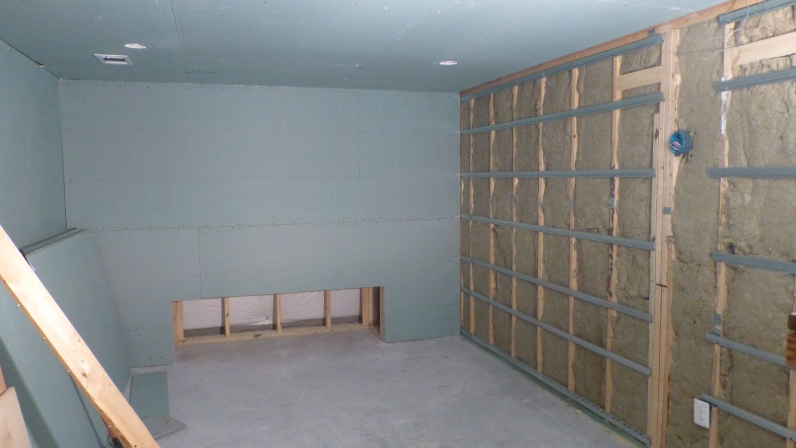 with channel on index ceiling drywall resilient double layer r gallery