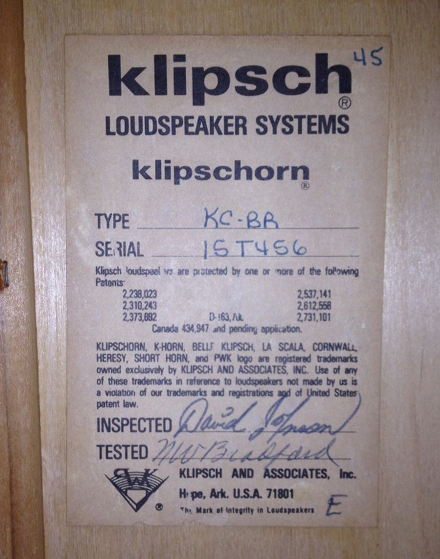 Klipschorn Tag