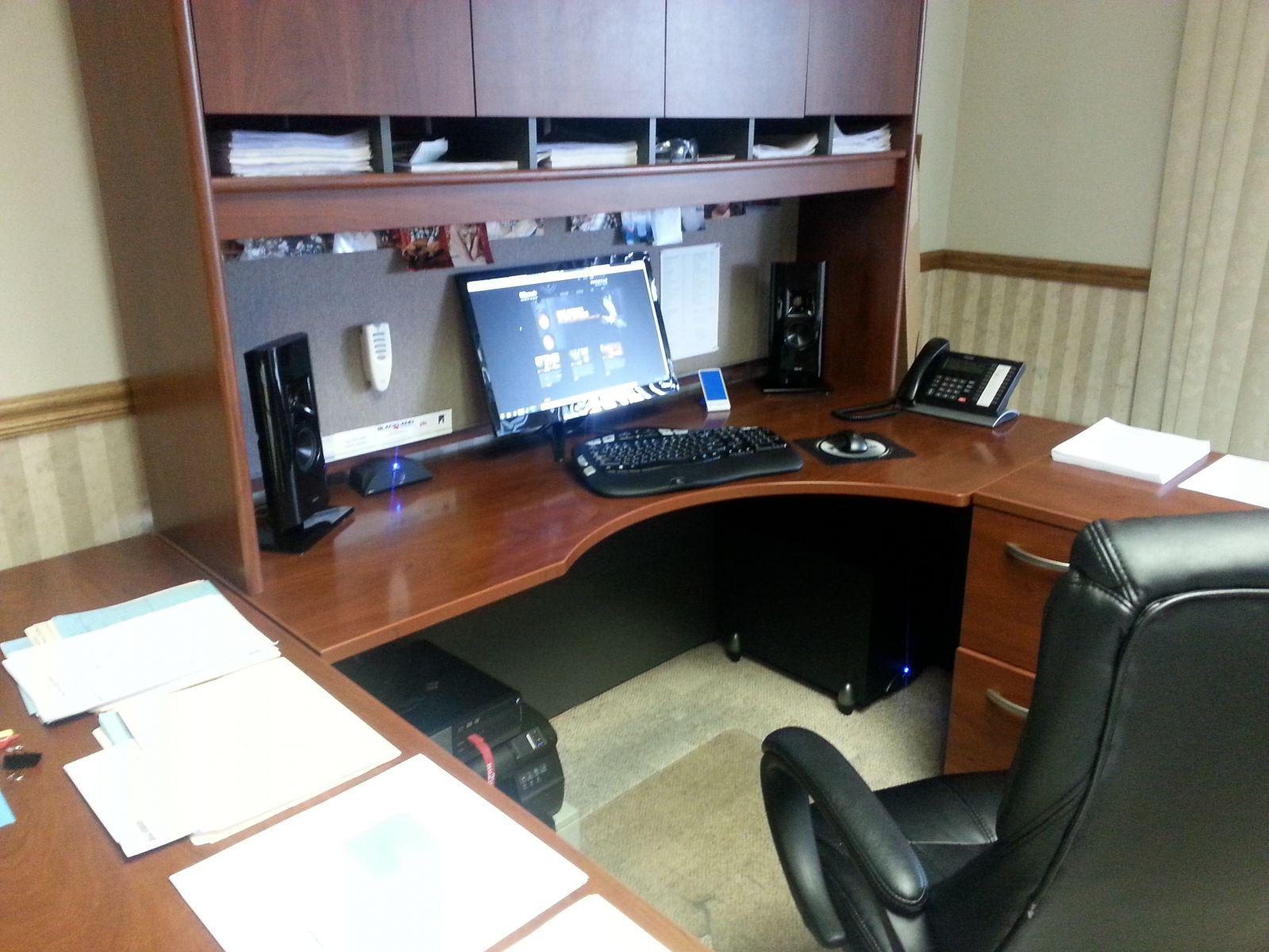Klipsch 2.1 Work Office Setup