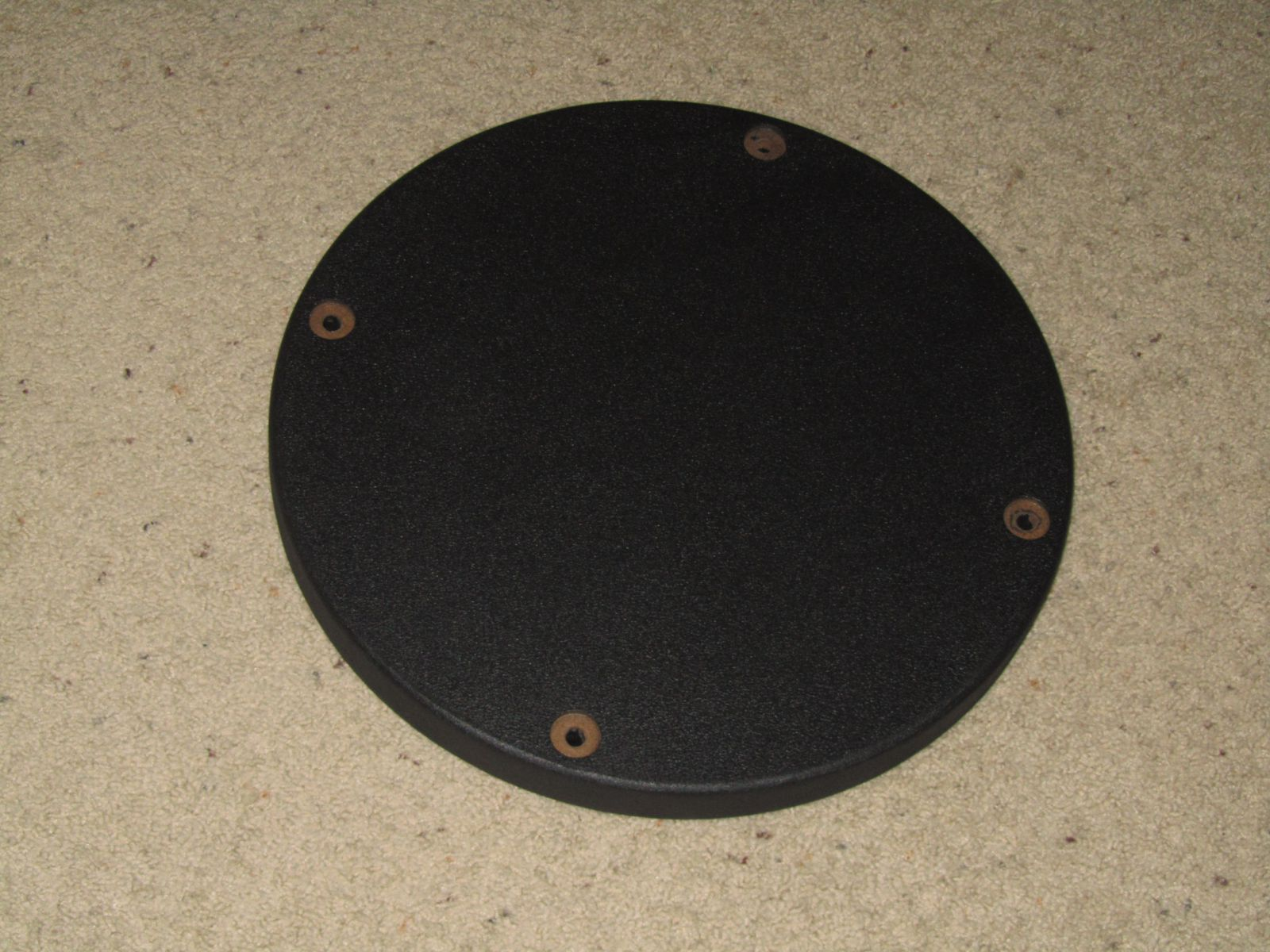 Finished Base Plate w/ DuraTex