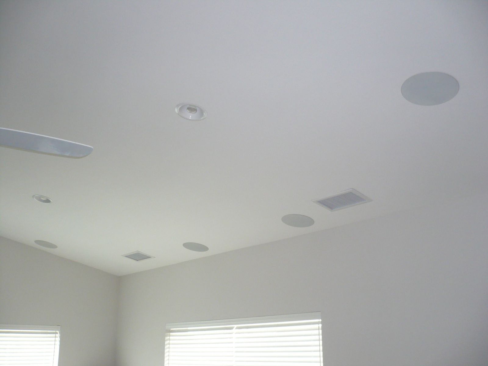 In ceiling with grills - High WAF