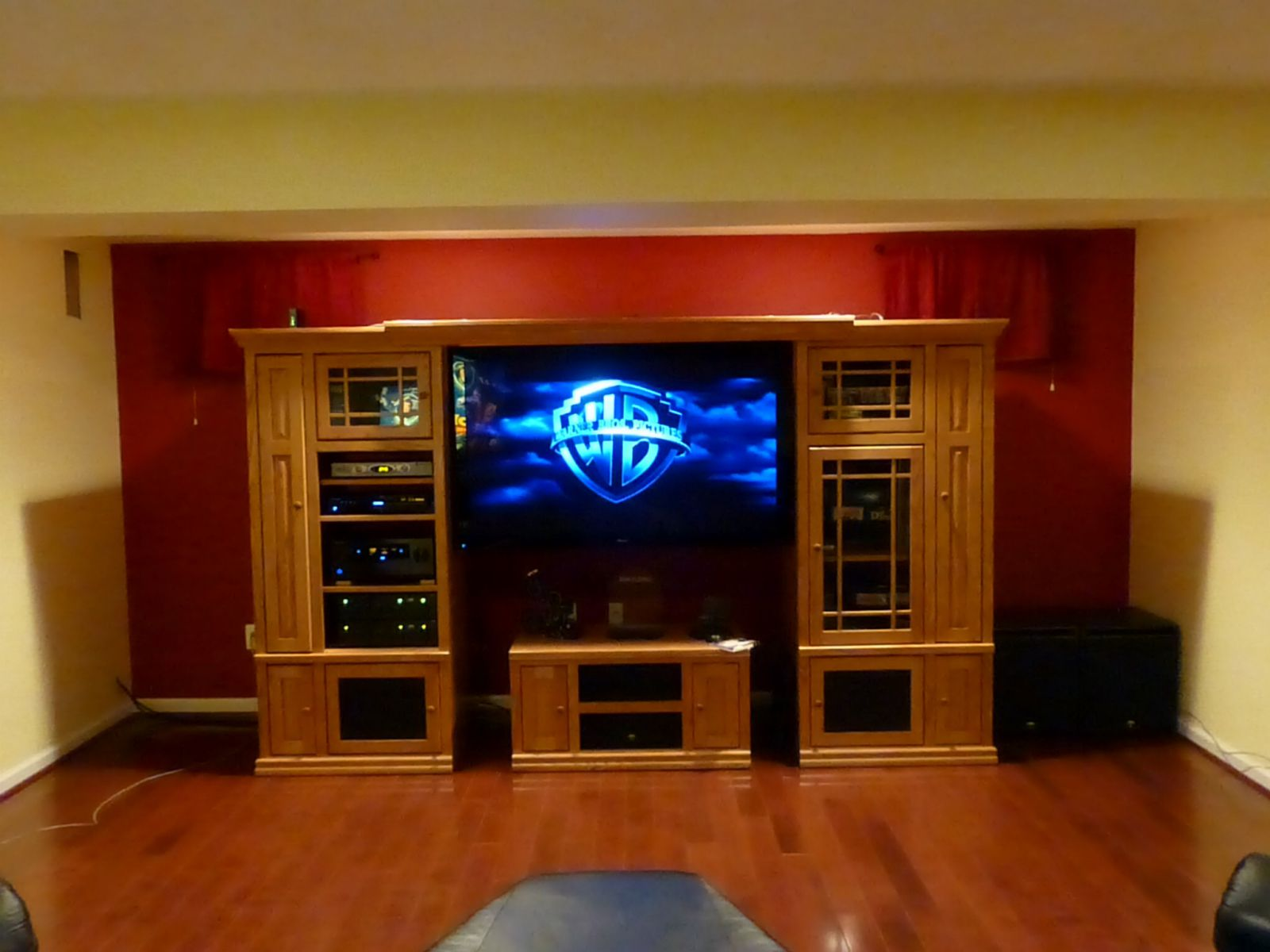 Klipsch THX Ultra system with Pioneer Elite 151FD Plasma 60""