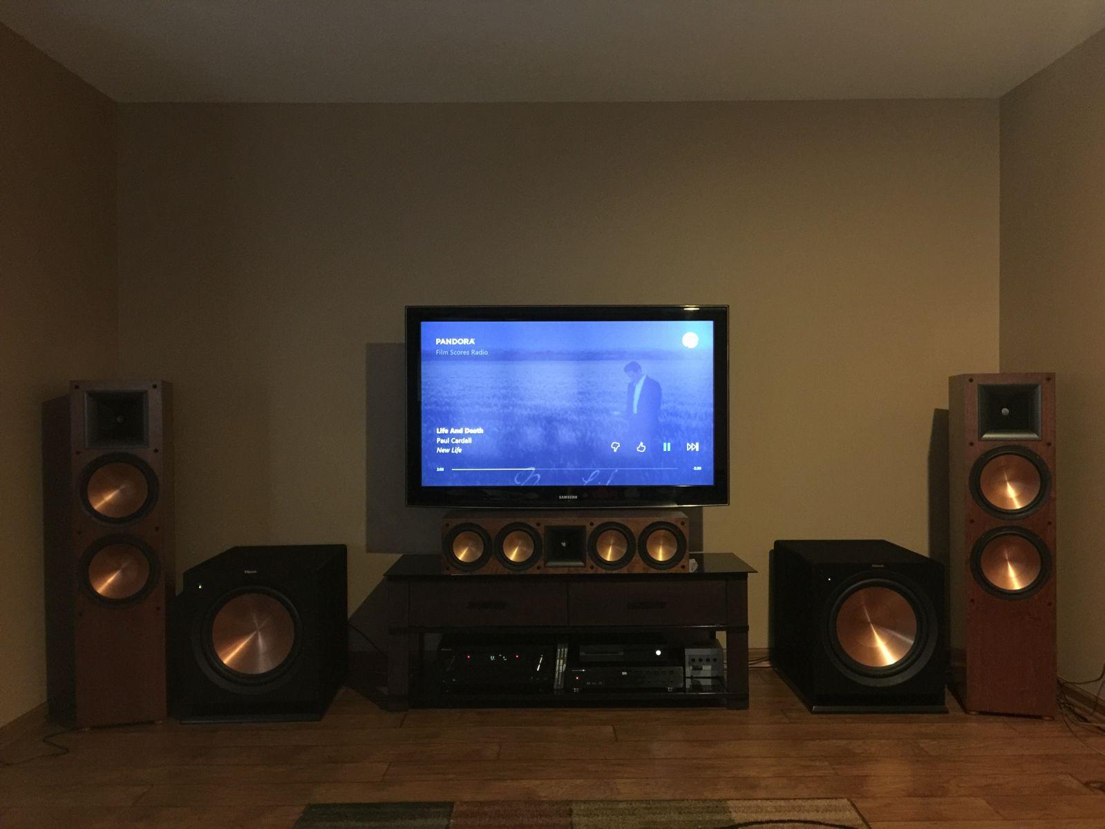 home theater showcase the klipsch audio community. Black Bedroom Furniture Sets. Home Design Ideas