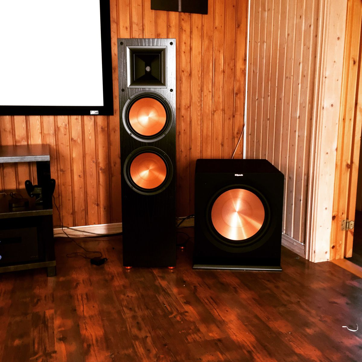 Home Theater 7.2 Klipsch.