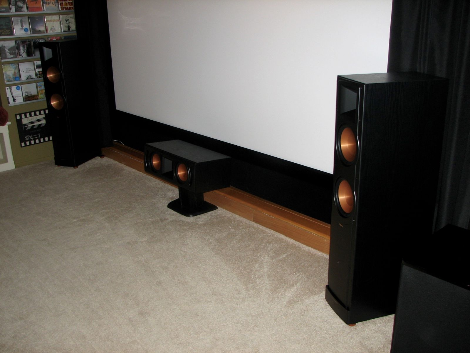Movie Room Screen Wall