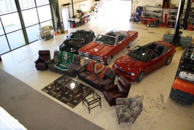 indoor drive in top view