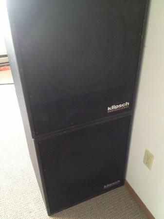 """Klipsch KP-480 SW 400 Watt 18"""" Subwoofer - $100 (Fargo, ND ..."""