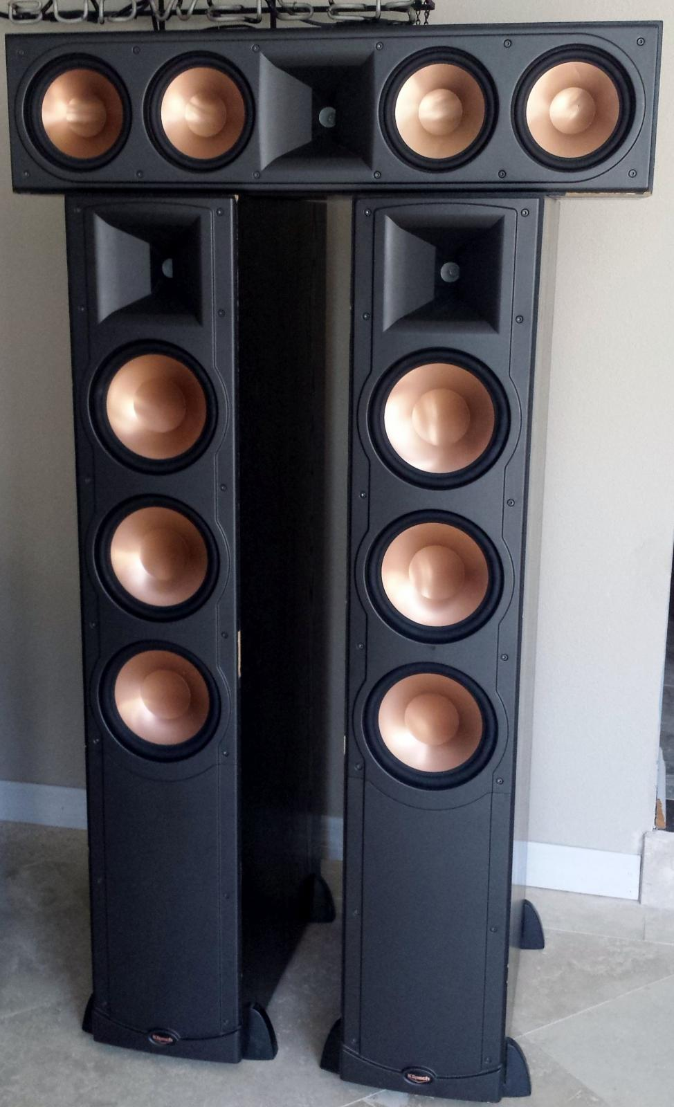 klipsch rf 83 rc 64 plus rw 12 garage sale the klipsch audio community. Black Bedroom Furniture Sets. Home Design Ideas