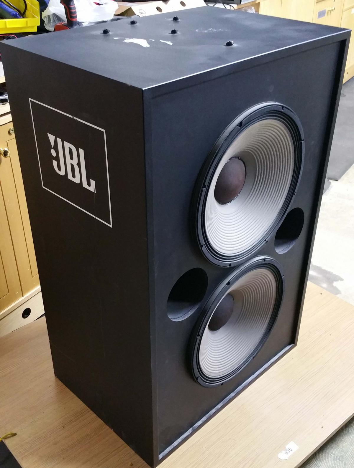jbl 4648 subwoofer this is a monster price lowered and. Black Bedroom Furniture Sets. Home Design Ideas