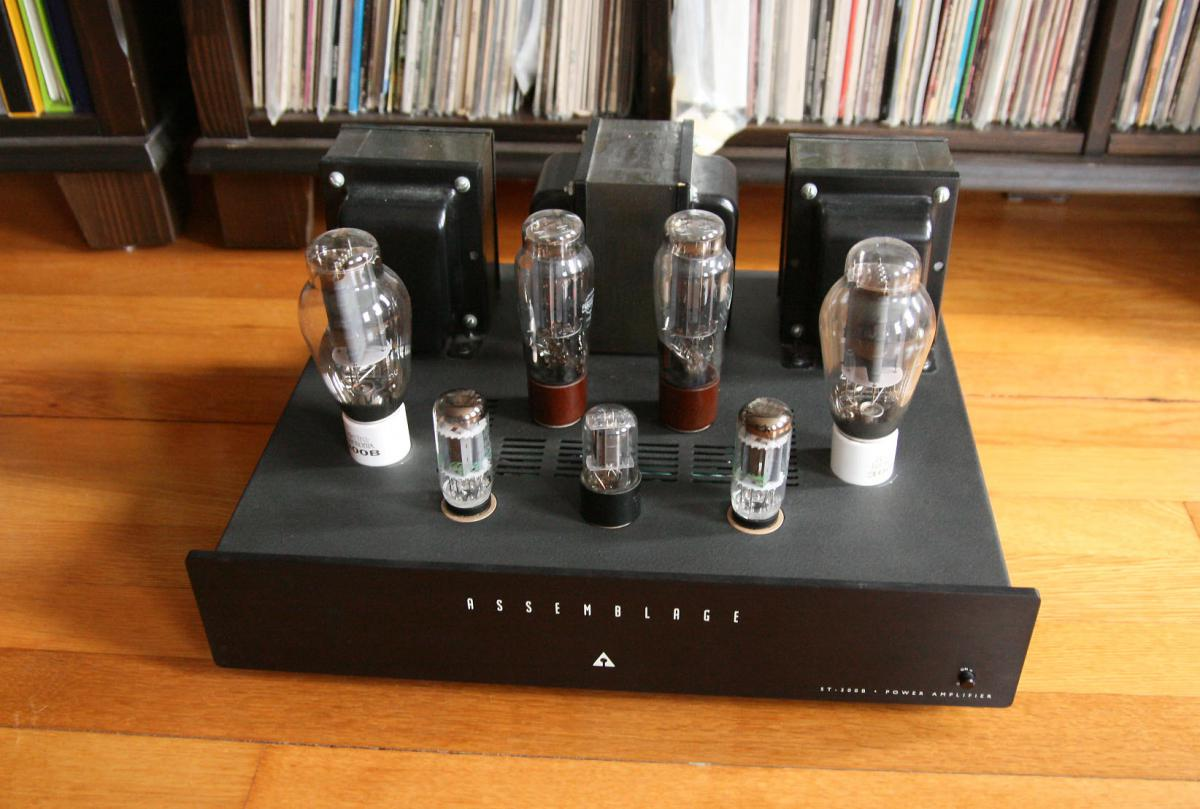 Sold Assemblage St 300b 8wpc Set Power Amplifier Sold
