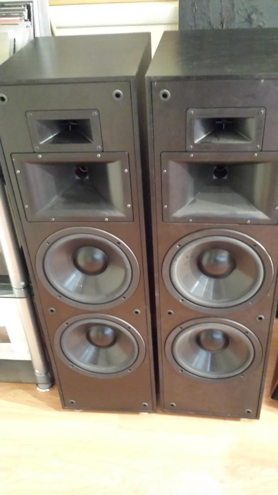 For Sale Klipsch Klf 20 Speakers Garage Sale The