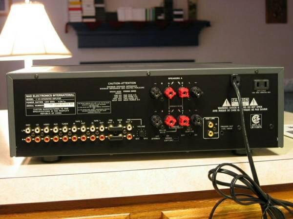 Nad C370 Integrated Garage Sale The Klipsch Audio