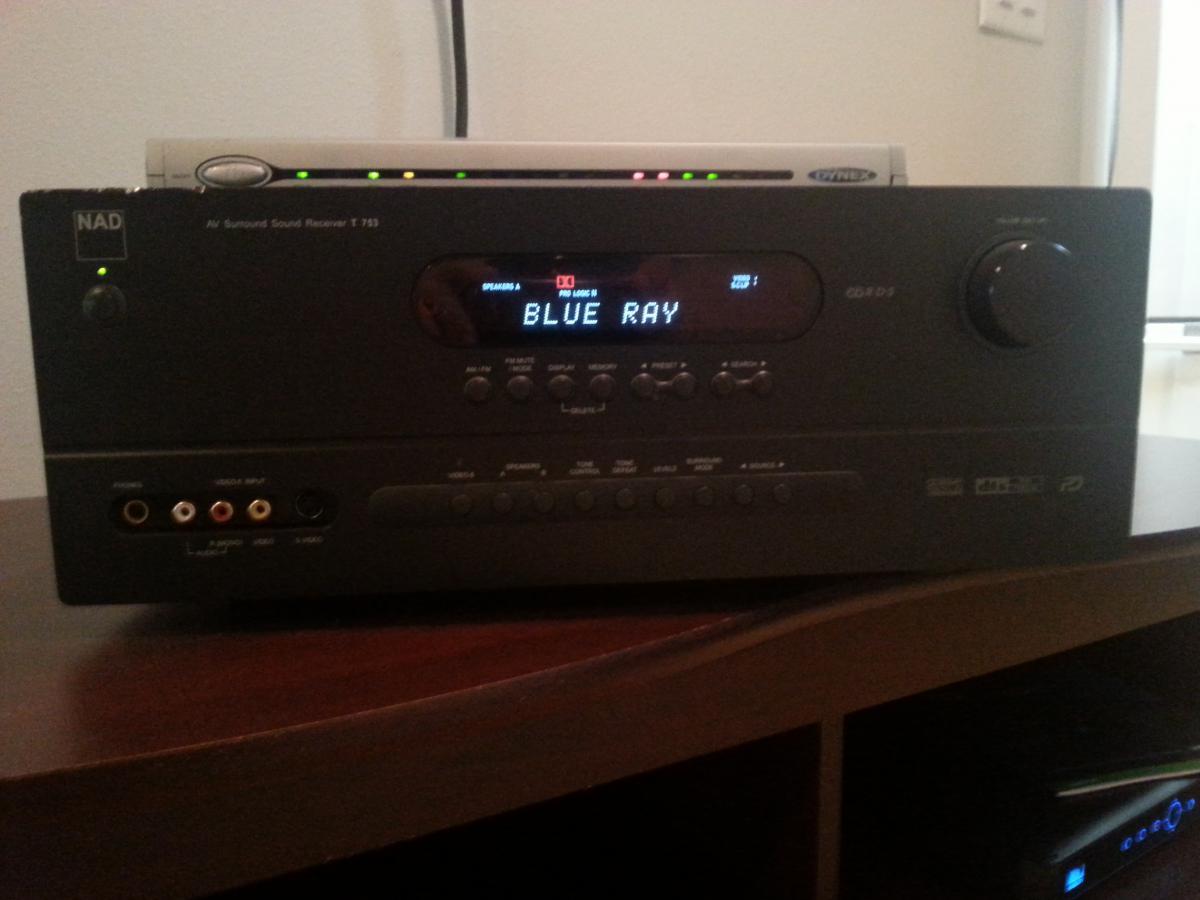 Nad T753 Sold Garage Sale The Klipsch Audio Community