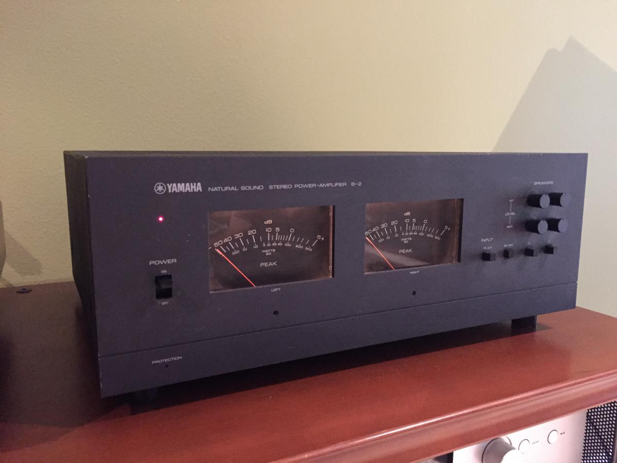 sold yamaha b2 vfet amp fully restored sold garage sale the