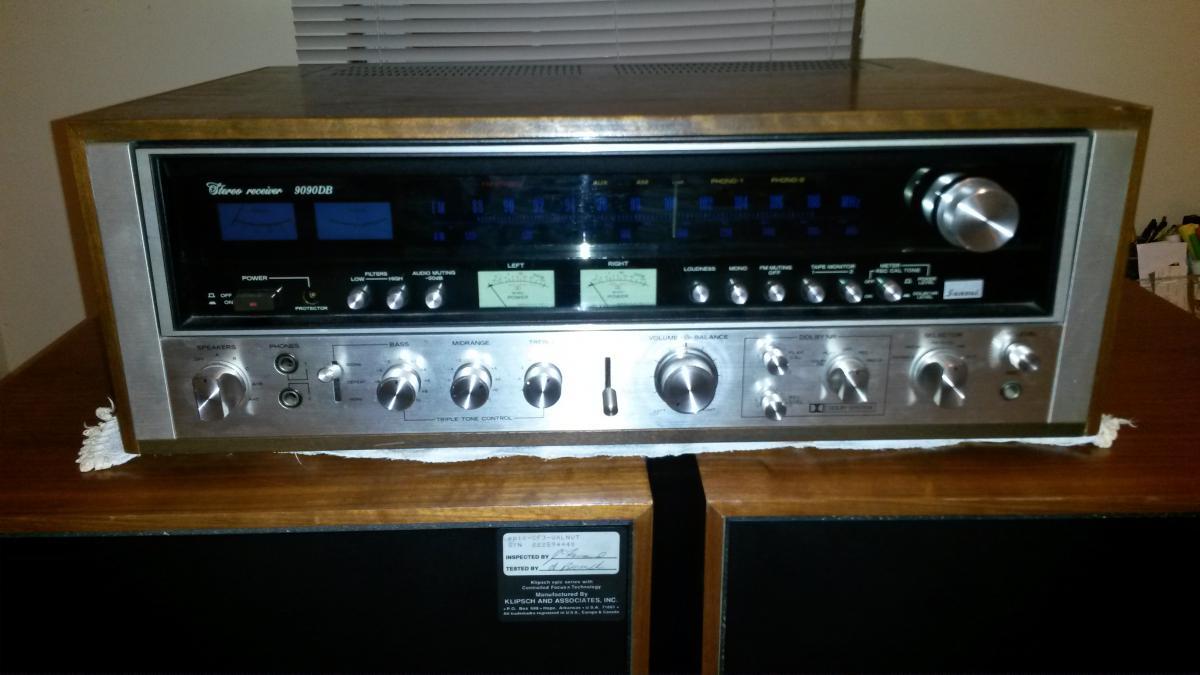 Sansui 9090DB - Garage Sale - The Klipsch Audio Community