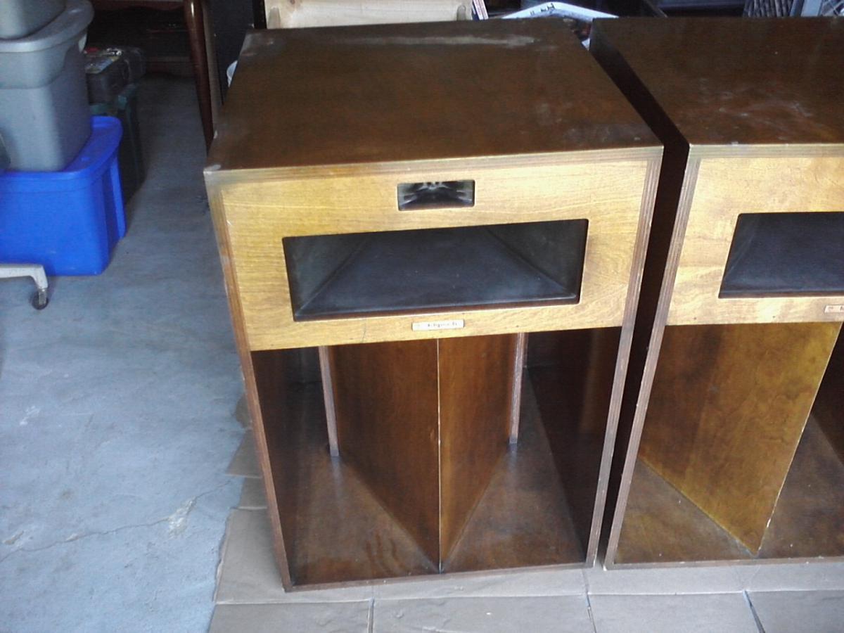 klipsch la scala loudspeaker type ls br for sale garage. Black Bedroom Furniture Sets. Home Design Ideas