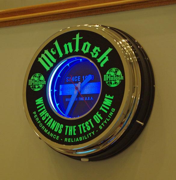 Mcintosh Wall Clock Sold Garage Sale The Klipsch Audio