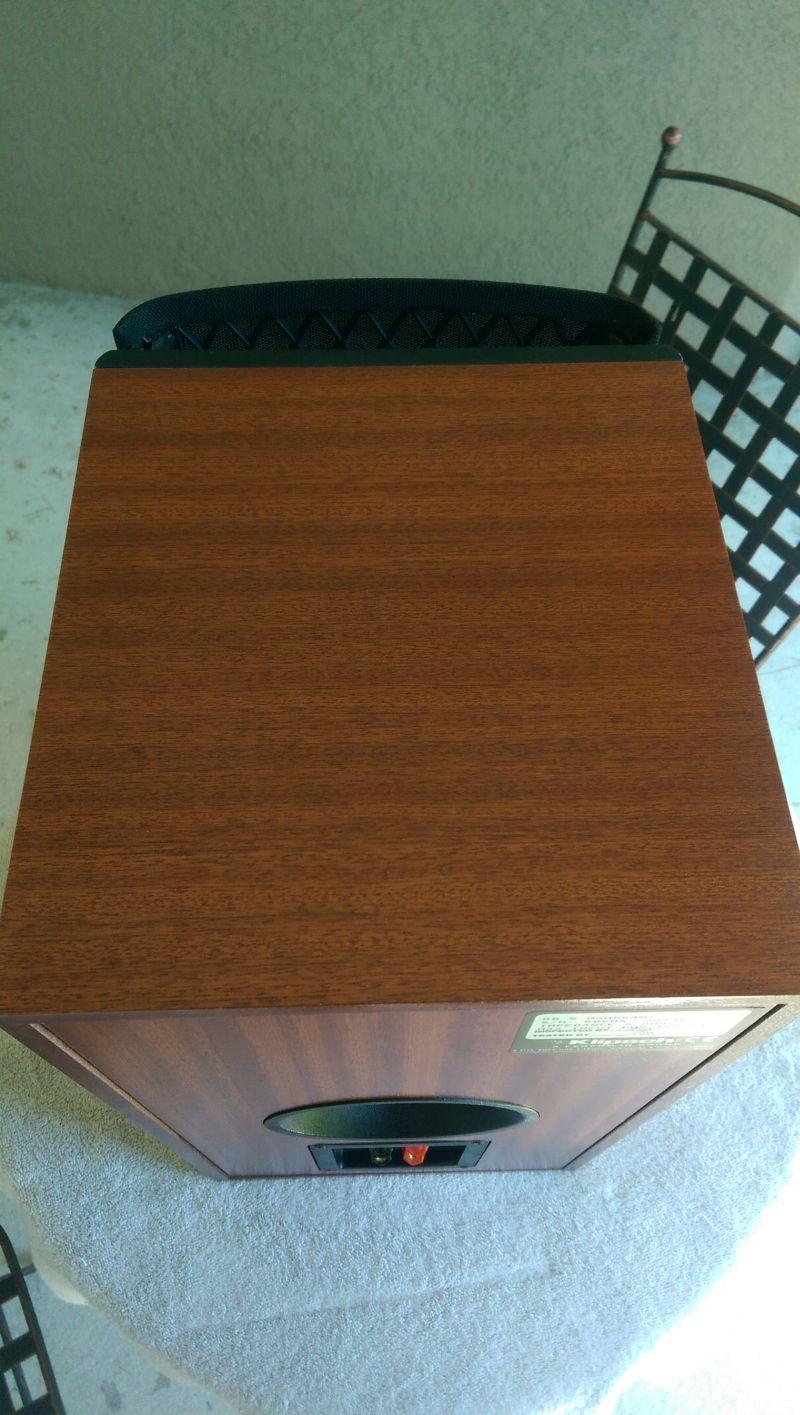 Klipsch Rb 5 S Mahogany 325 00 Sold Garage Sale