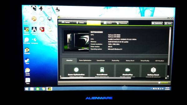 No Longer For Sale Alienware 18 I7 4940mx 980m Sli 32gb