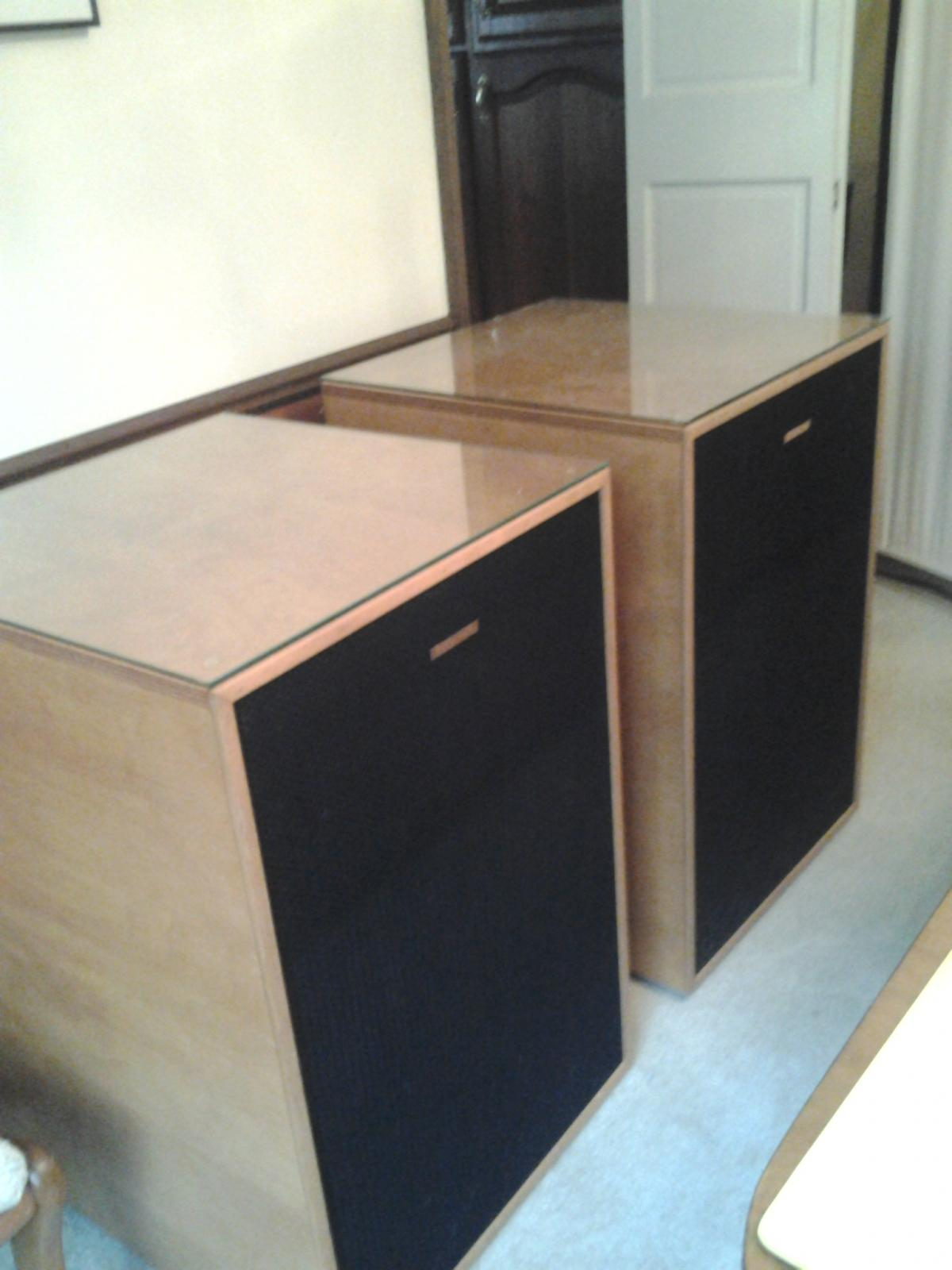sold la scala pair with full factory grills garage sale. Black Bedroom Furniture Sets. Home Design Ideas