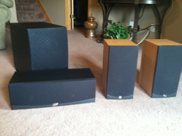 klipsch rf 25 rc 25 rw 10 450 rockford mn alerts the klipsch audio community. Black Bedroom Furniture Sets. Home Design Ideas