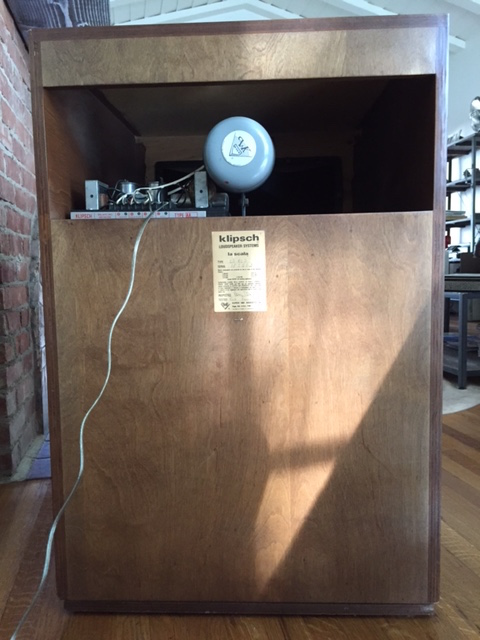 Vintage Klipsch Scala Speakers Near Perfect