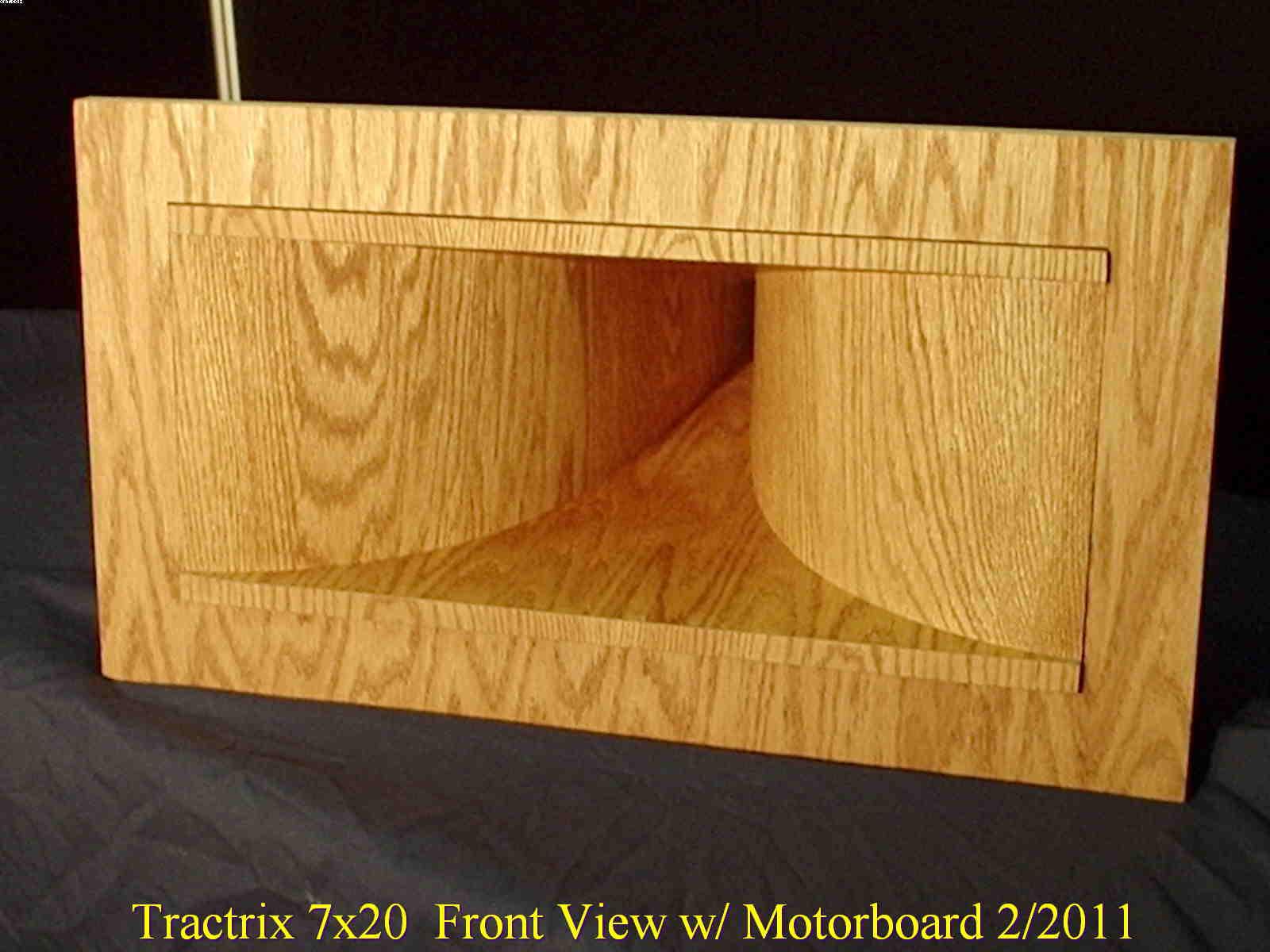 Cornscala / Wooden Tractrix Horn Build  - Technical