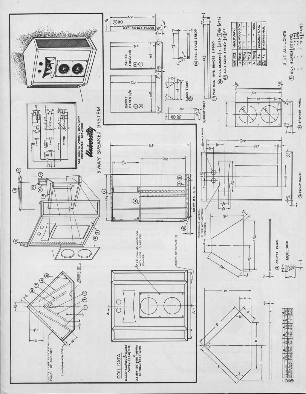 University Classic Corner Plans Technical