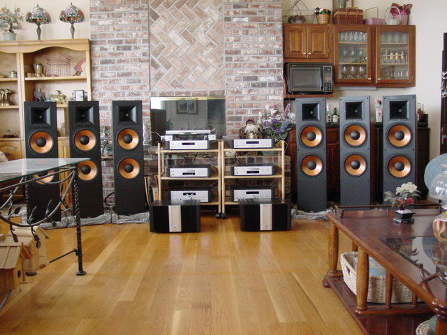 Rotel or Odyssey for Klipsch RF-7 speakers????? - 2-Channel
