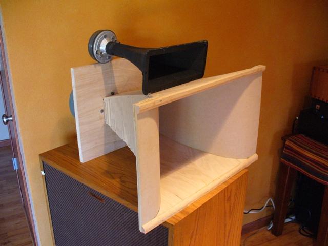 DIY 225 Hz tractrix horns  Lots of pics! - Technical