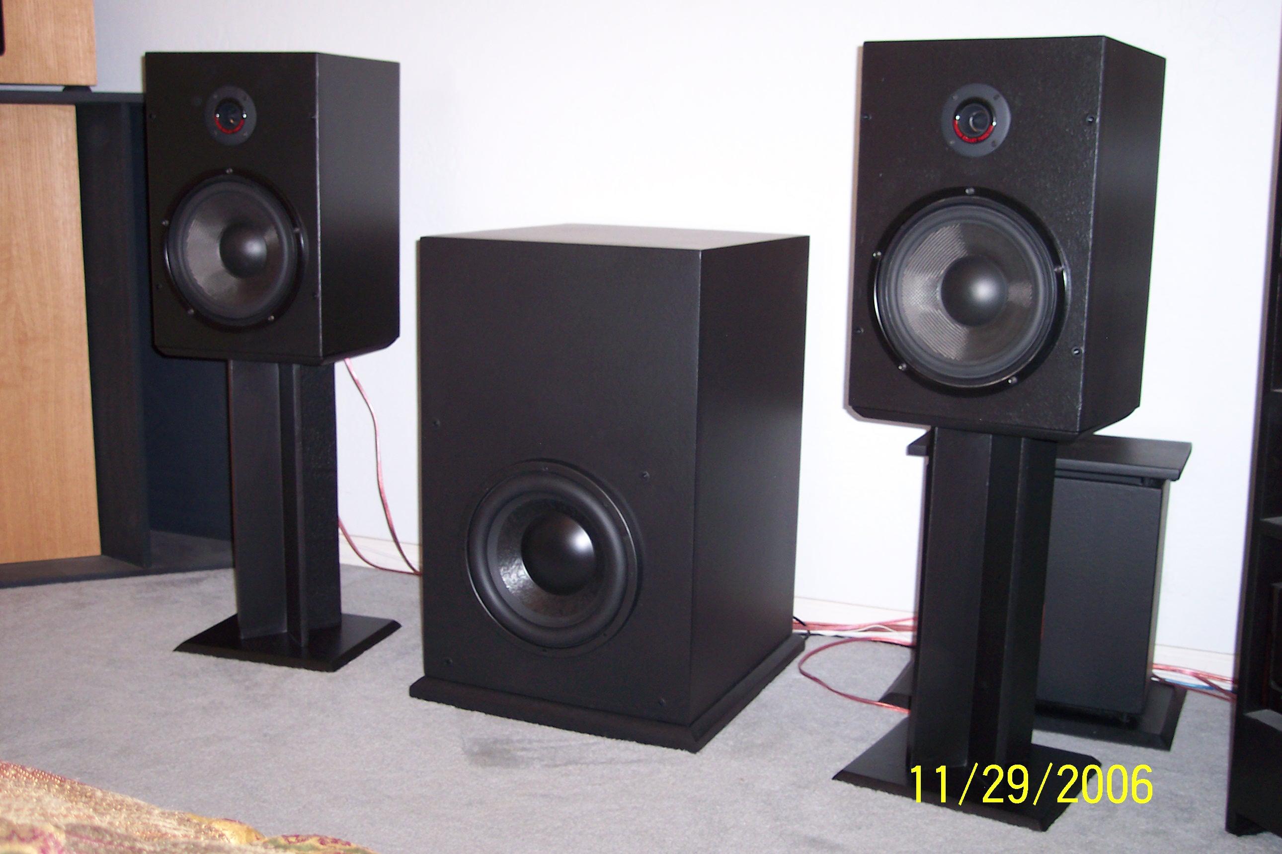 Modifying Cerwin Vega RE series speakers to Klipsch
