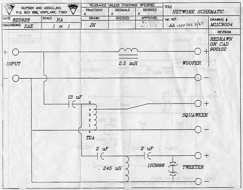 Jube Lf Technical Modifications The Klipsch Audio