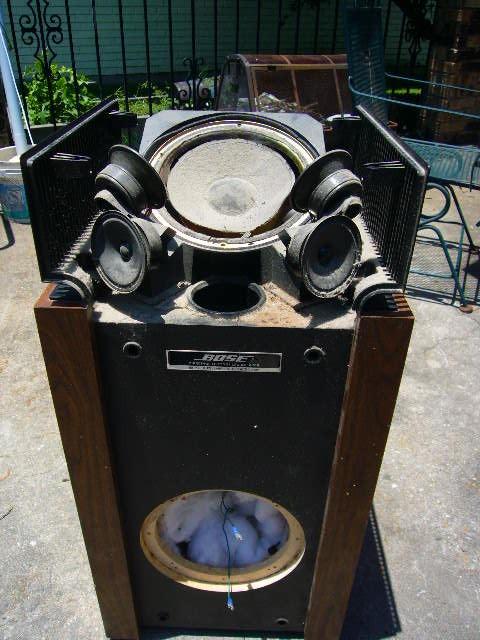 bose 601 series ii - technical  modifications