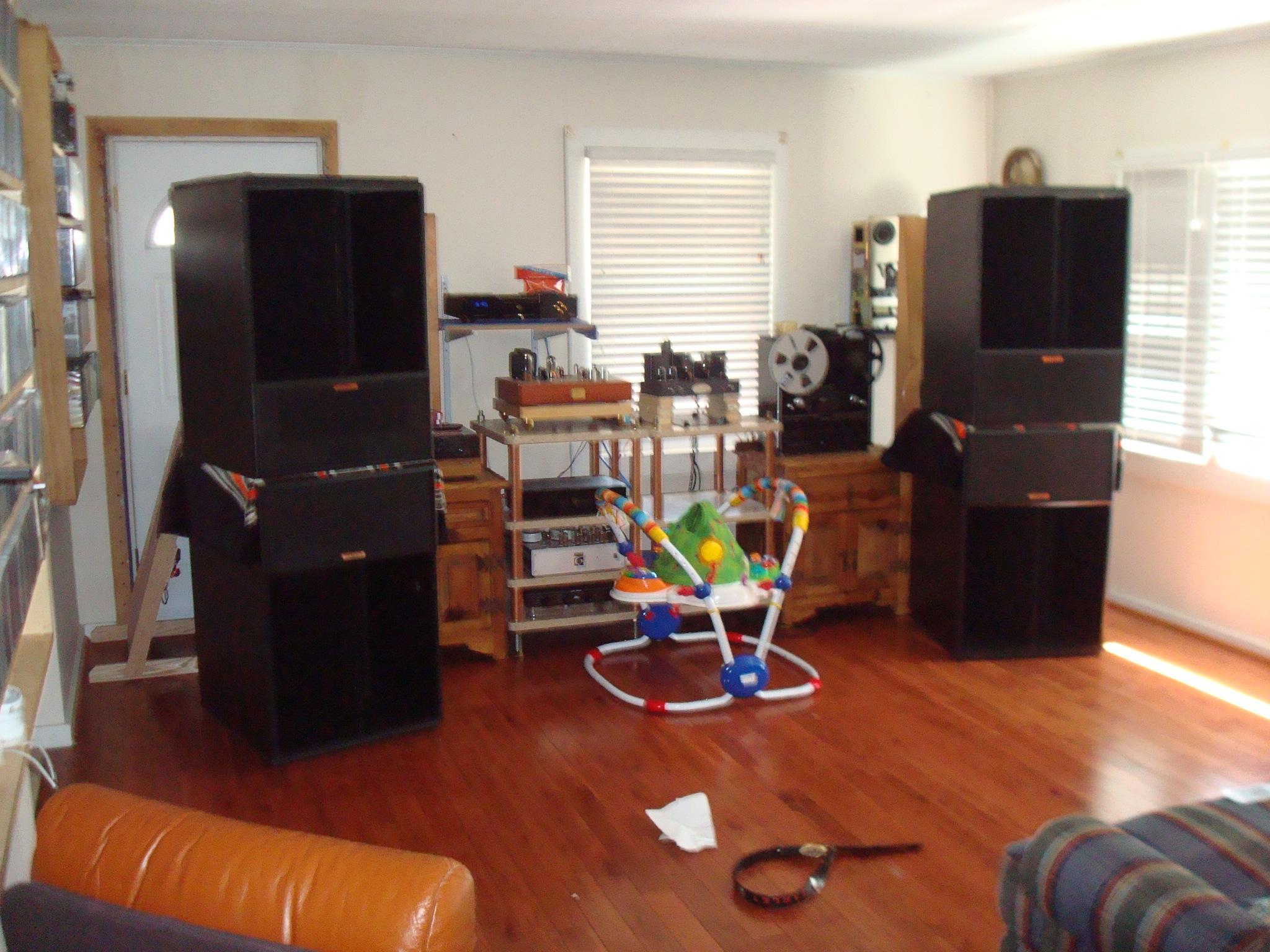 lascala woofers technical modifications the klipsch. Black Bedroom Furniture Sets. Home Design Ideas