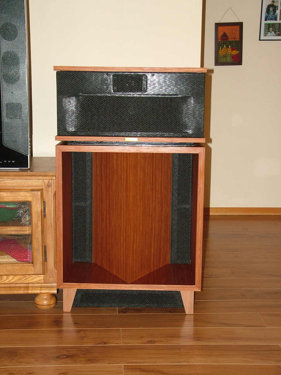 pictures of another 39 nother bass reflex mod technical modifications the klipsch audio community. Black Bedroom Furniture Sets. Home Design Ideas