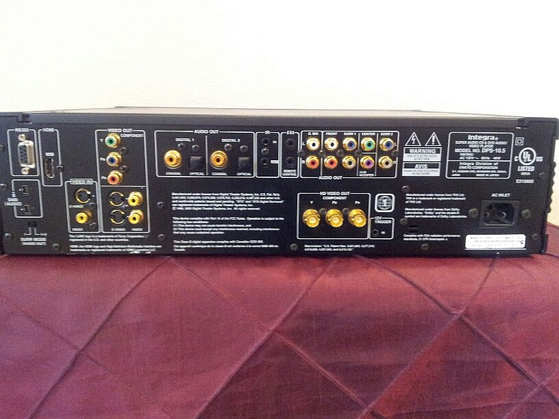 Fs Integra Dps 10 5 Universal Player New Low Price Sold