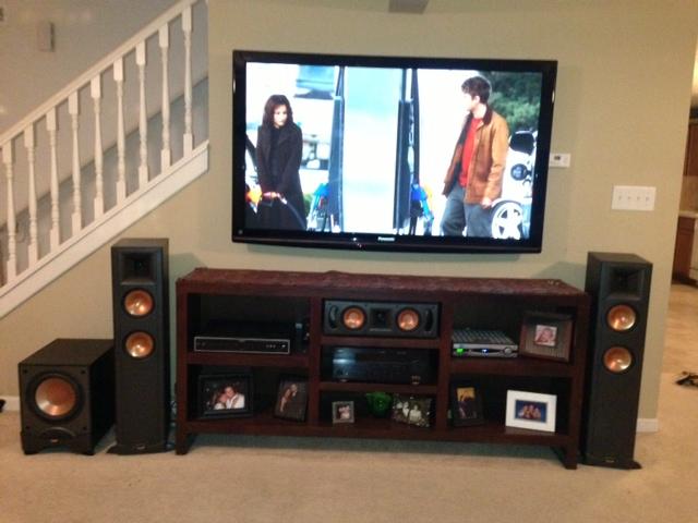 rf 25 home theater system for sale or trade garage sale the klipsch audio community. Black Bedroom Furniture Sets. Home Design Ideas