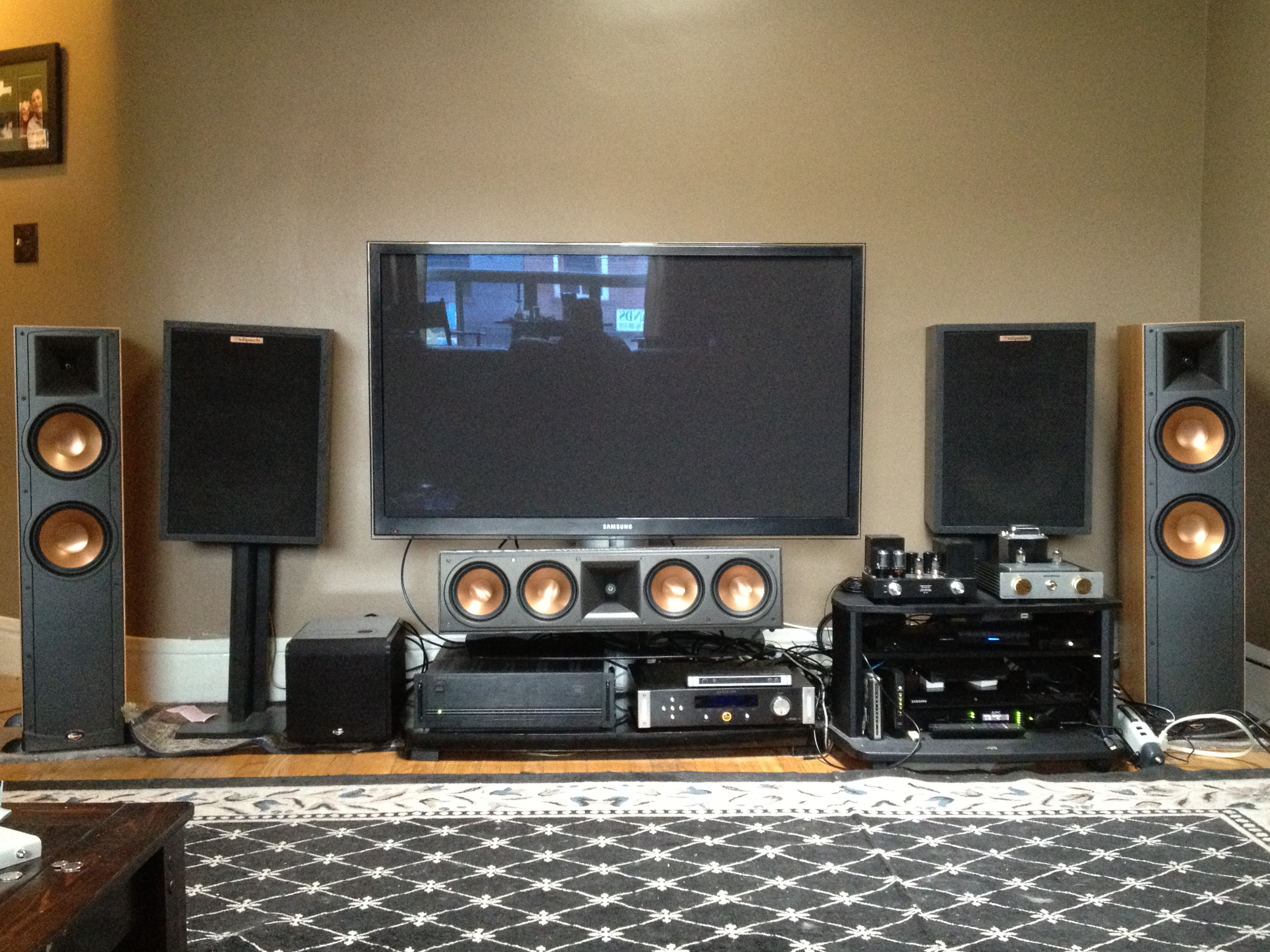 Lets see YOUR Home Theater: - Page 224 - Home Theater - The Klipsch ...