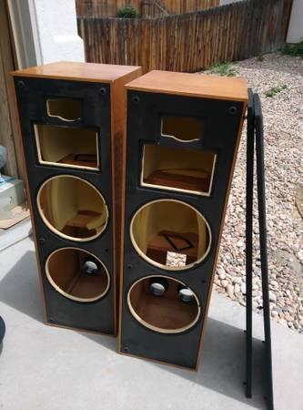 Klipsch Klf 30 Cabinets Oiled Oak Free Denver Co