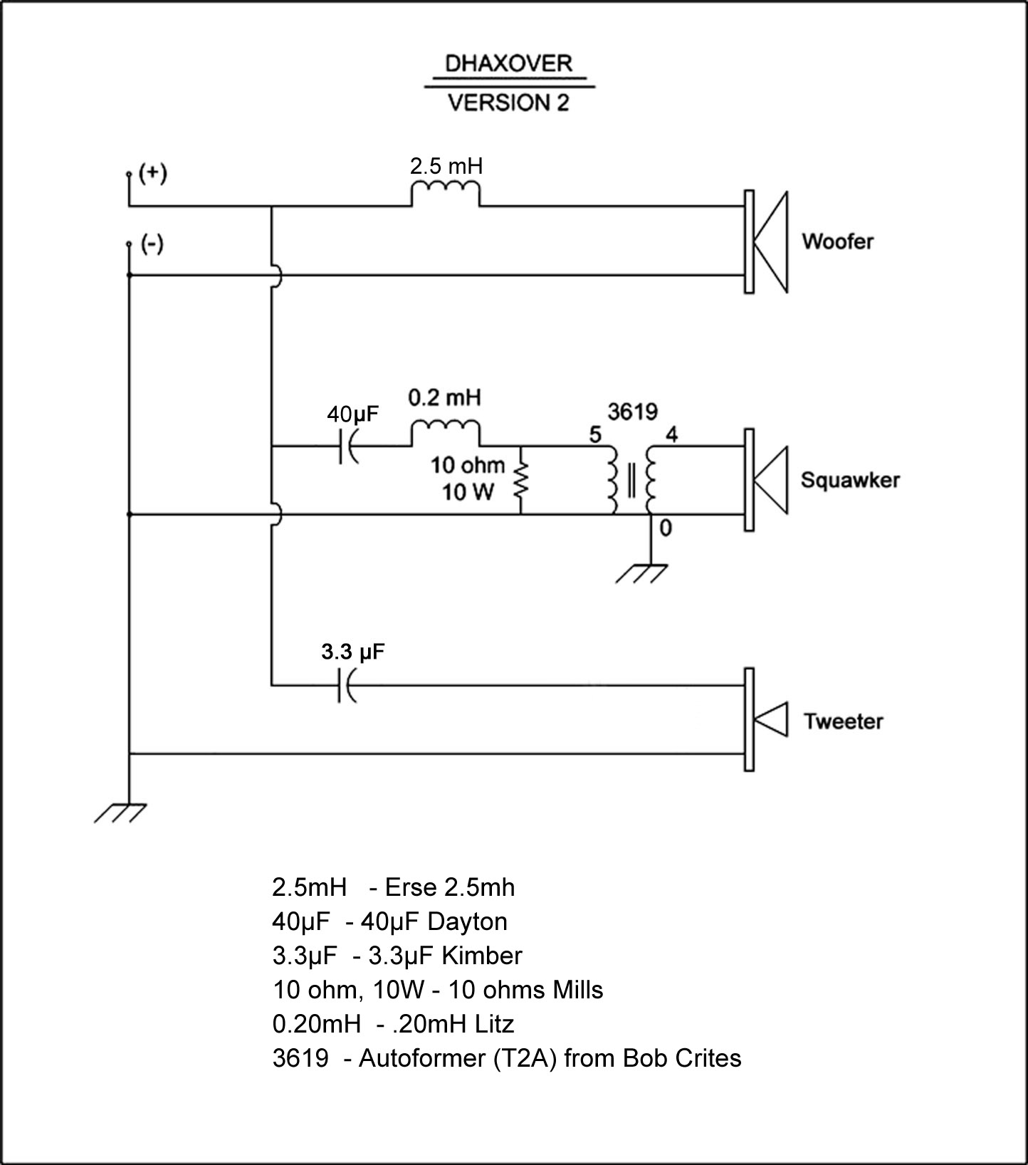Diy New La Scala Crossover 2 Channel Home Audio The Klipsch Way Passive Circuit Diagram Images Of Post 7149 13819525202968 Thumb