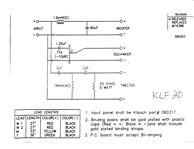 Klipsch crossovers - Page 11 - Technical/Modifications - The Klipsch