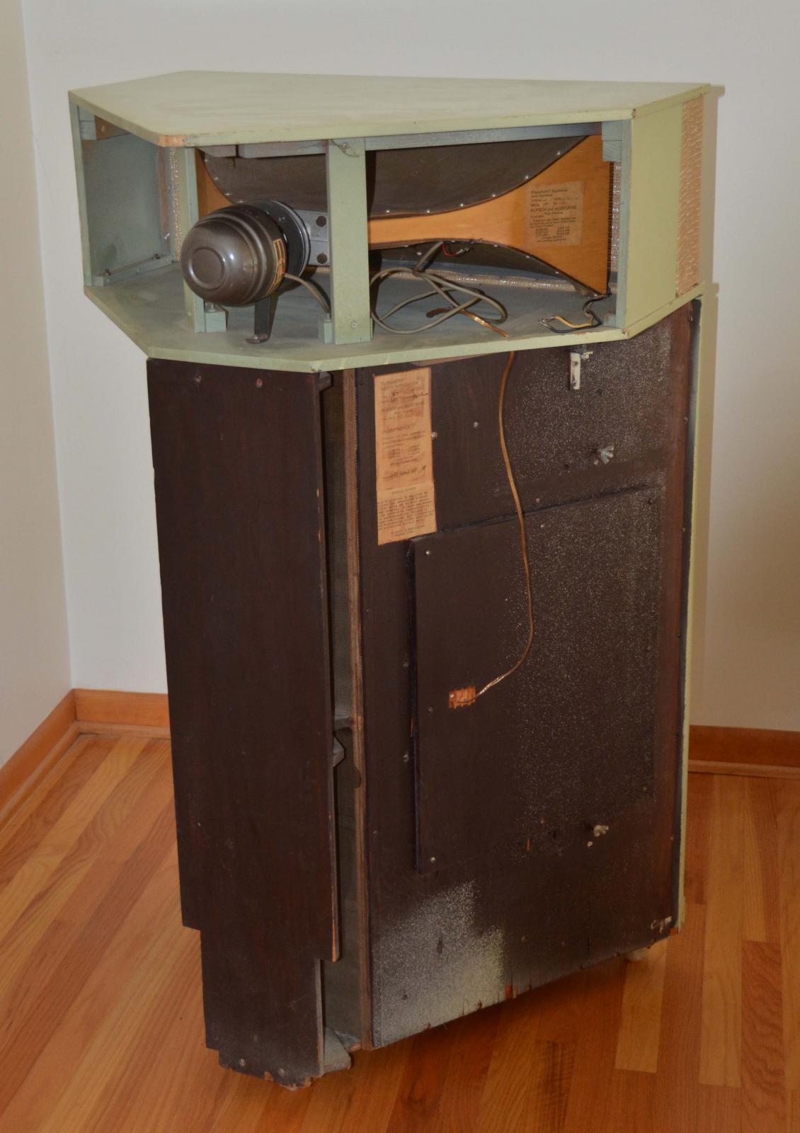 1954 Klipschorn For Sale - Garage Sale