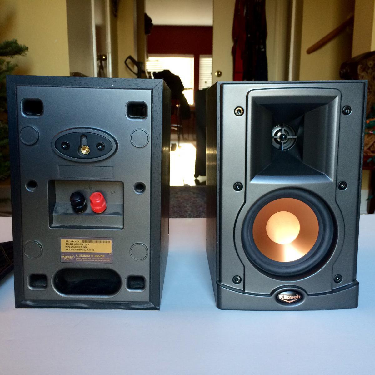 Klipsch Pair Of Rb 10 W Synergy C3 Center Speaker For