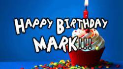 Поздравление с днём рождения марку