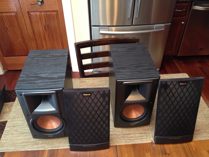 fs klipsch rb 51ii mint pair garage sale the. Black Bedroom Furniture Sets. Home Design Ideas