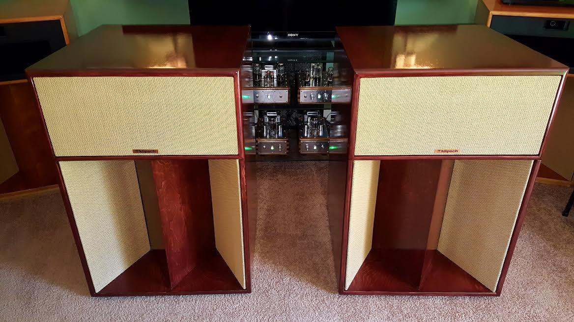 fs la scala sold garage sale the klipsch audio. Black Bedroom Furniture Sets. Home Design Ideas