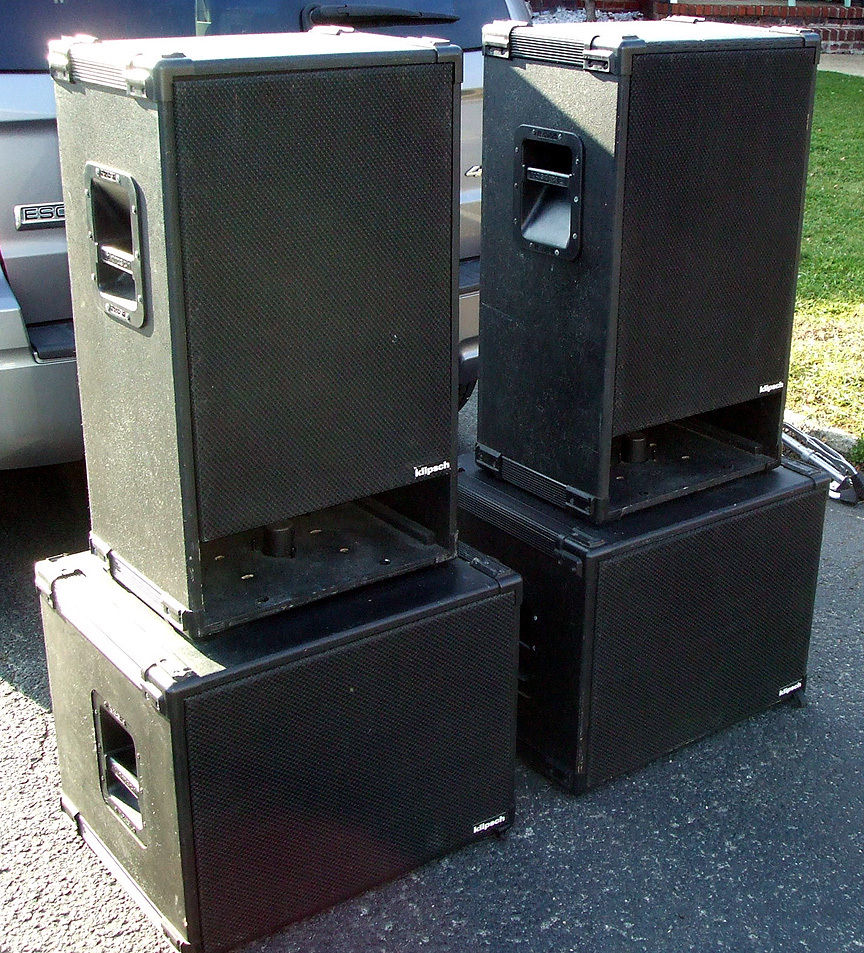 Nj Klipsch Professional Kp 320 Mains Amp K 115 Sw Bass