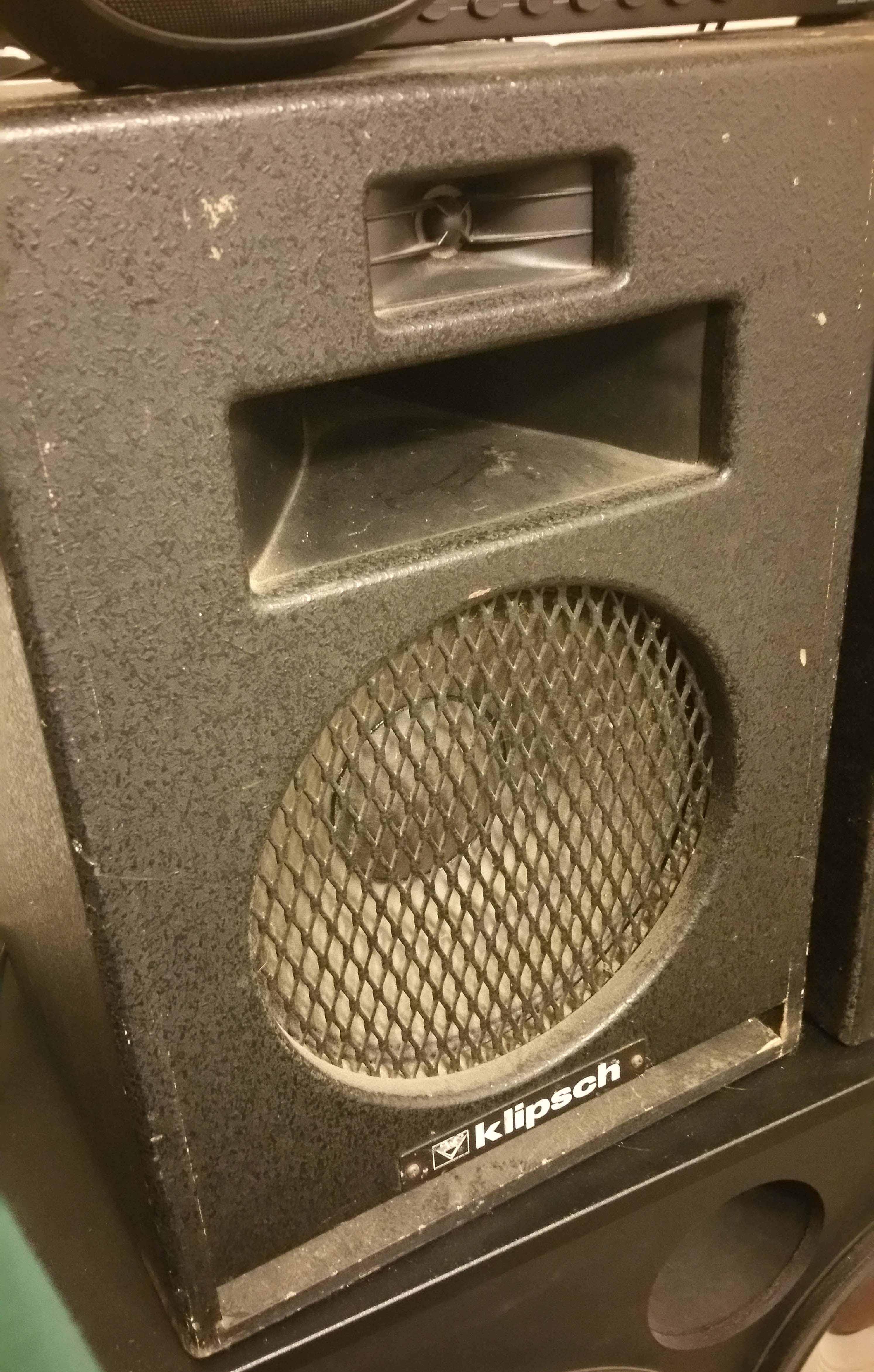 FS: Heresy HIP black (pair) - Garage Sale - The Klipsch Audio Community