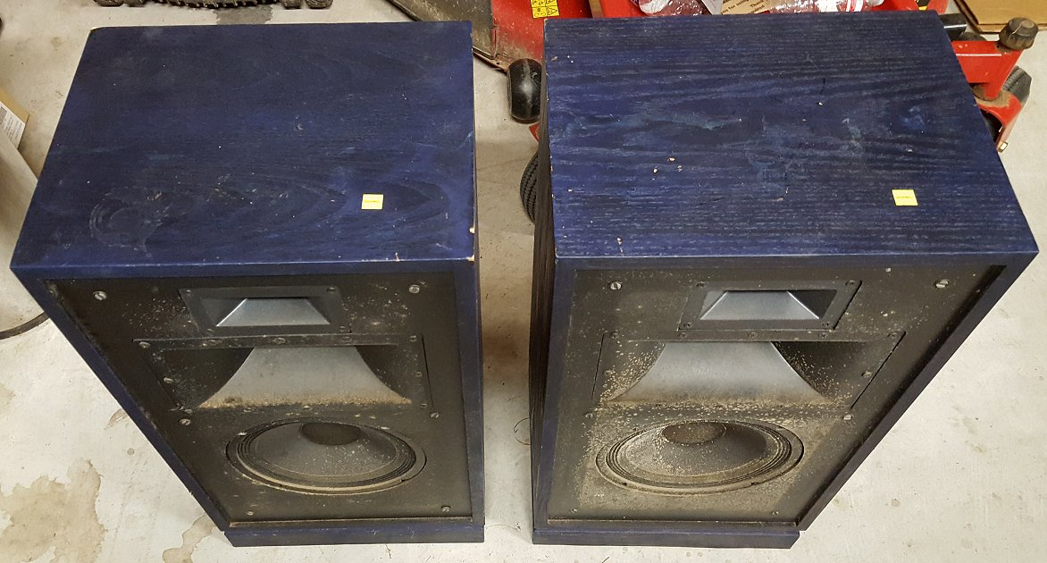 Rescued A Pair Of Quartets General Klipsch Info The