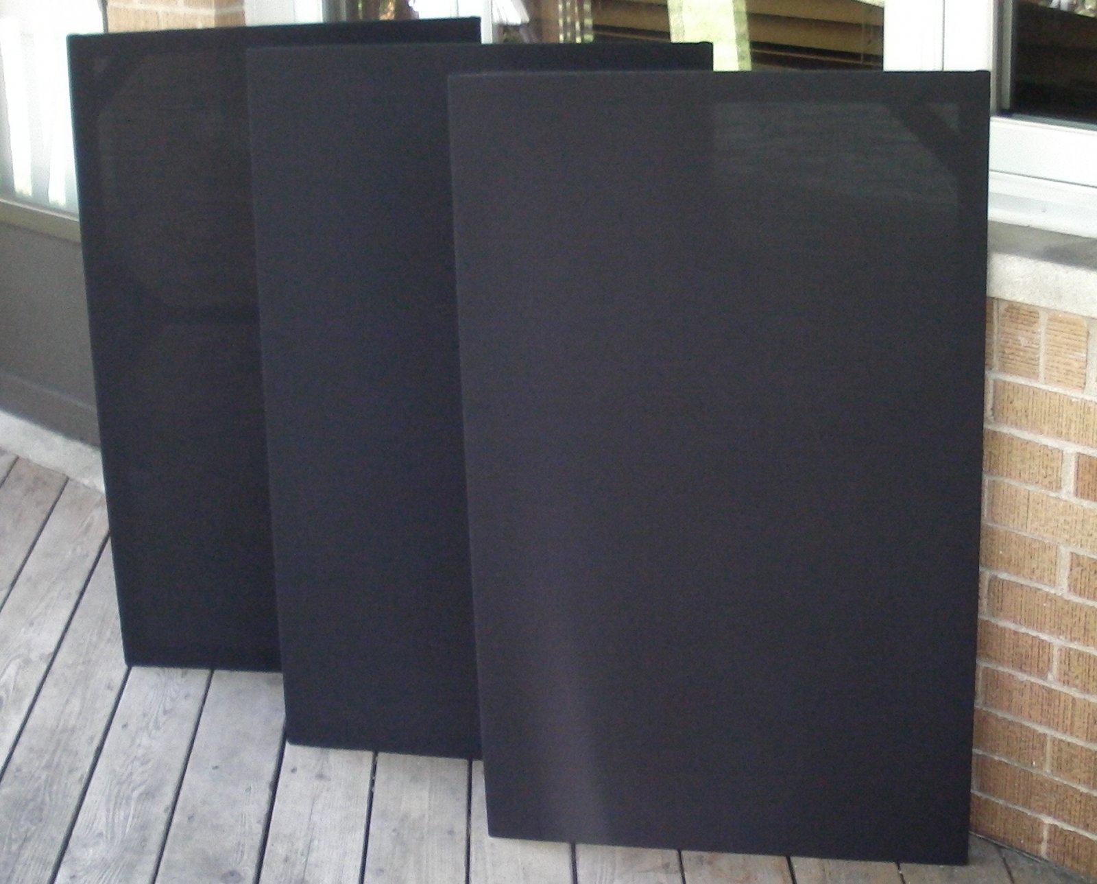 Trio of custom KPT grilles.